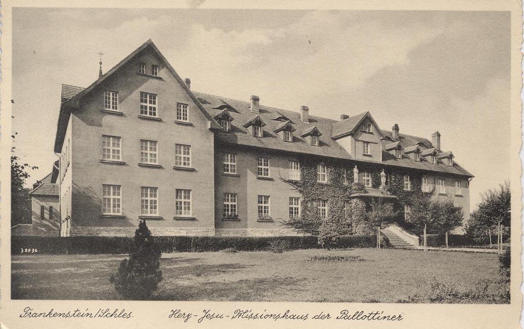 Herz-Jesu-Missionshaus i Frankenstein i Schlesien