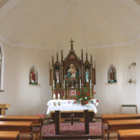 Altar in der Schönstatt-Kapelle in Strahovice